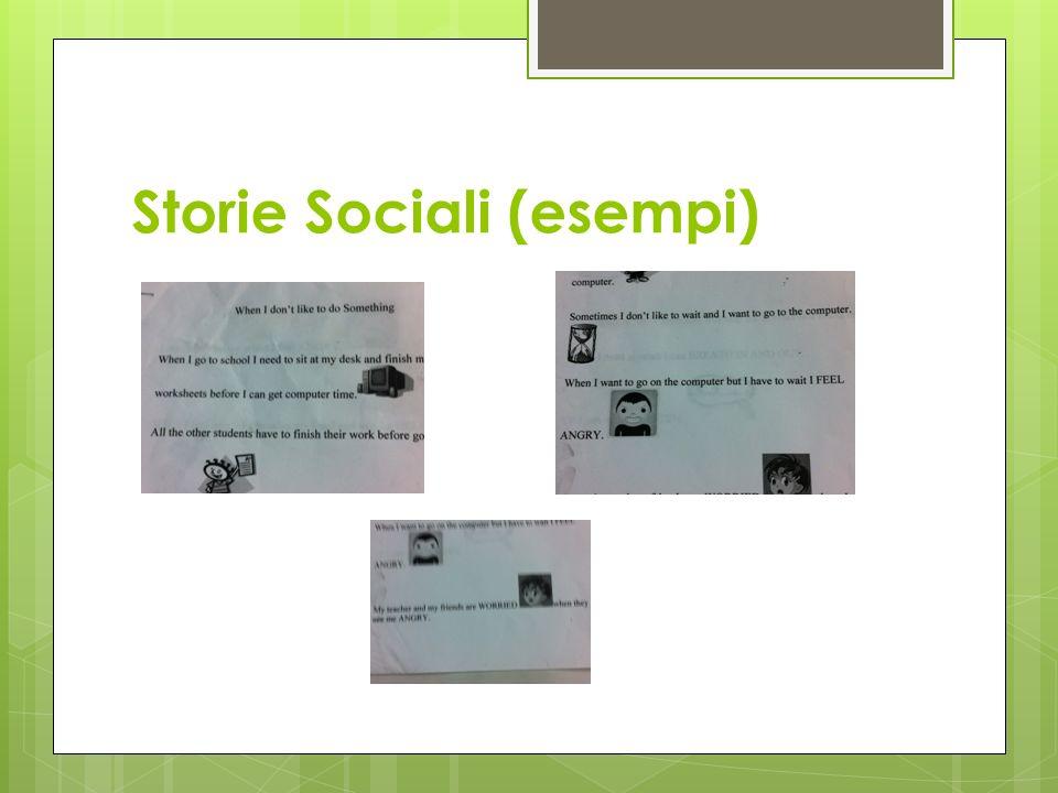 Storie Sociali (esempi)