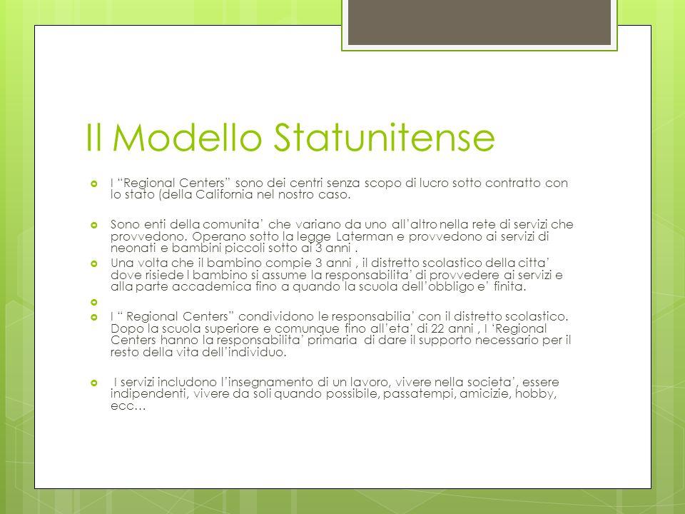 Il Modello Statunitense