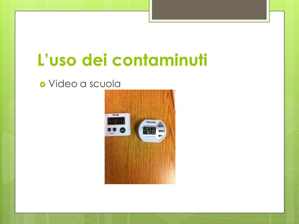 L'uso dei contaminuti Video a scuola
