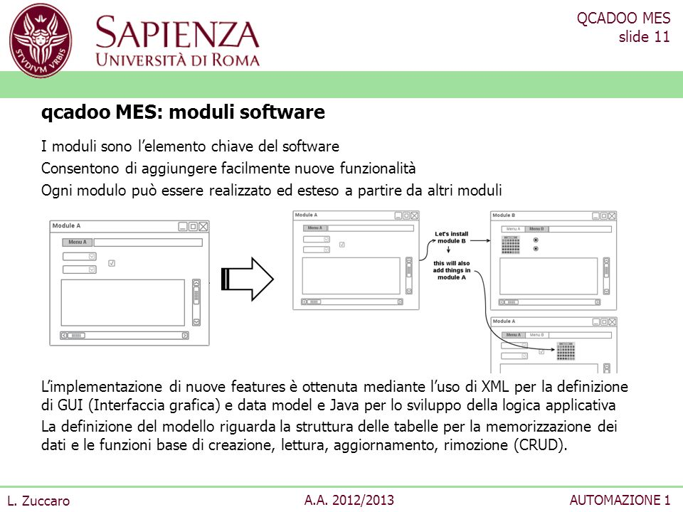 qcadoo MES: moduli software