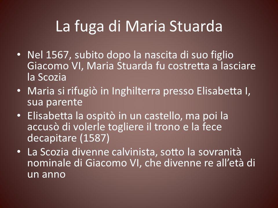 La fuga di Maria Stuarda