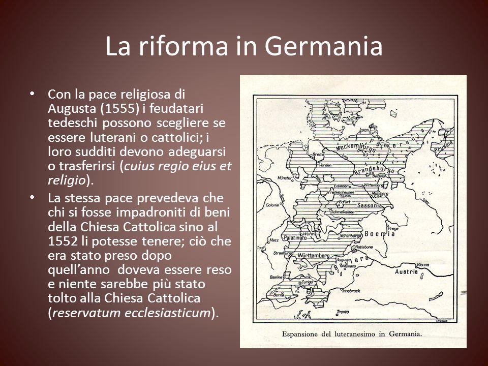 La riforma in Germania