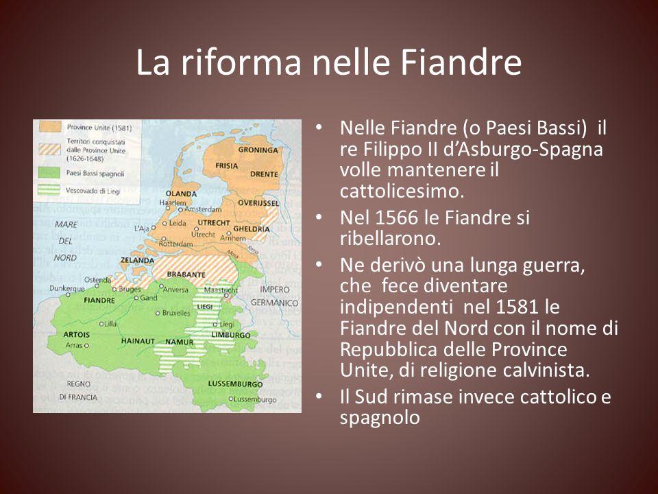 La riforma nelle Fiandre
