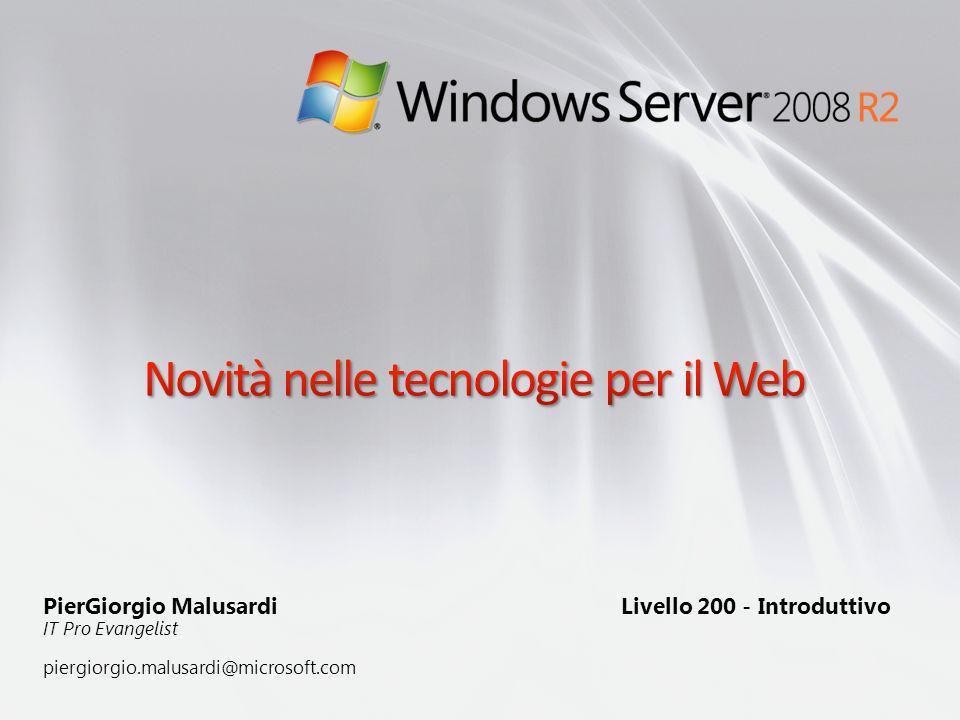 Novità nelle tecnologie per il Web