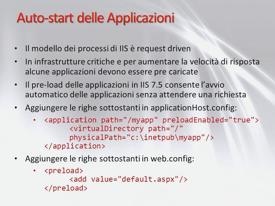 Auto-start delle Applicazioni