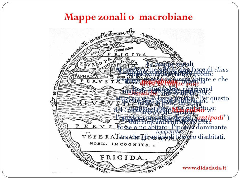 Mappe zonali o macrobiane