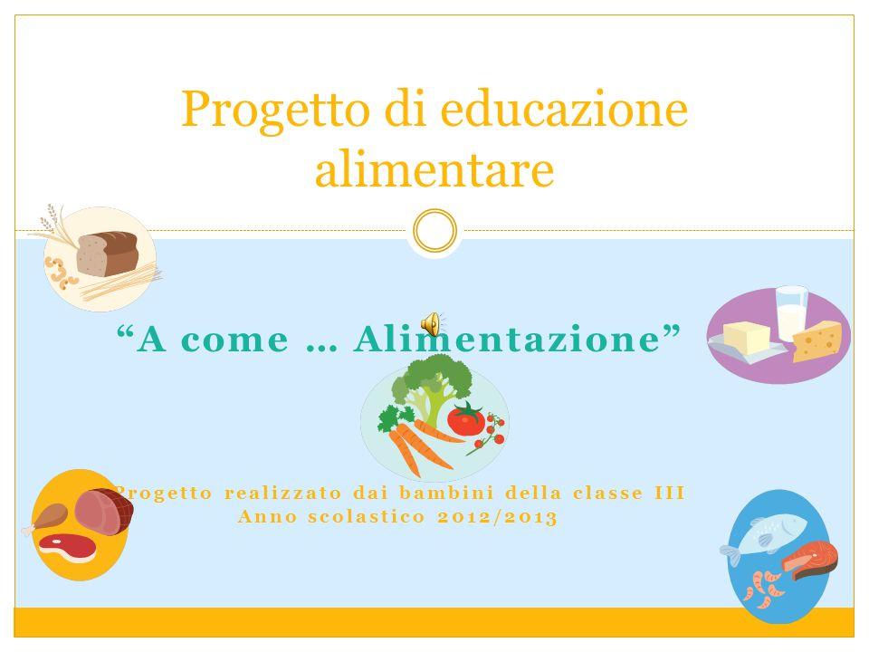 Popolare Progetto di educazione alimentare - ppt scaricare LD77