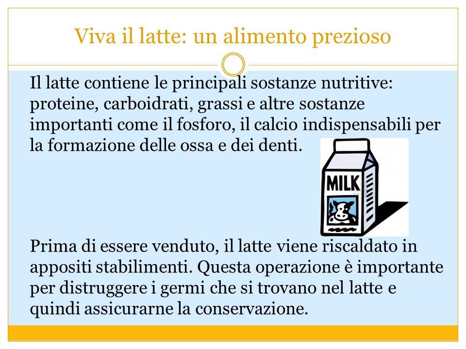 Viva il latte: un alimento prezioso