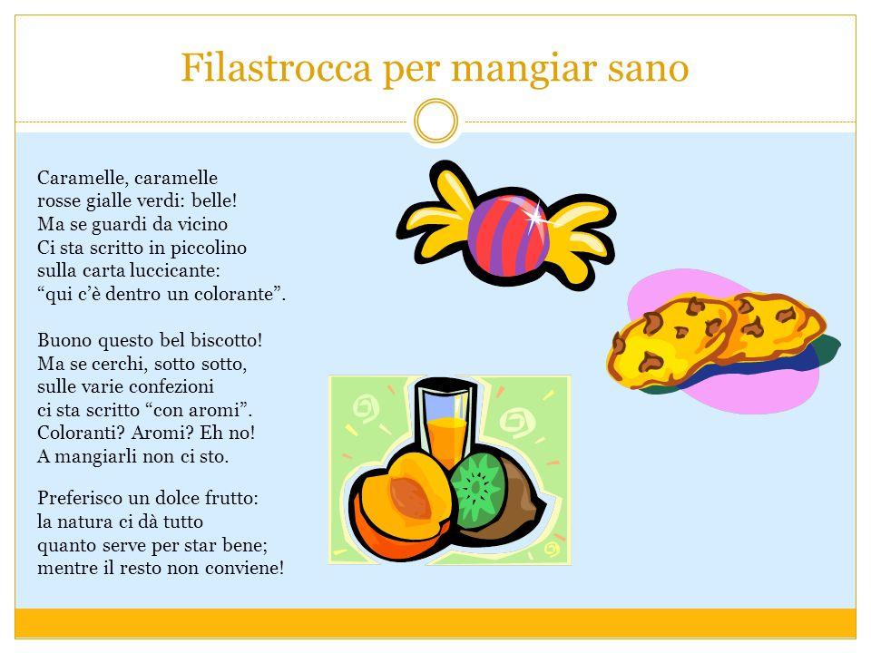Filastrocca per mangiar sano