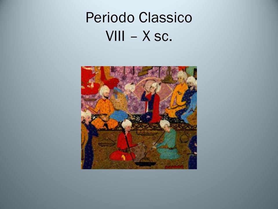 Periodo Classico VIII – X sc.