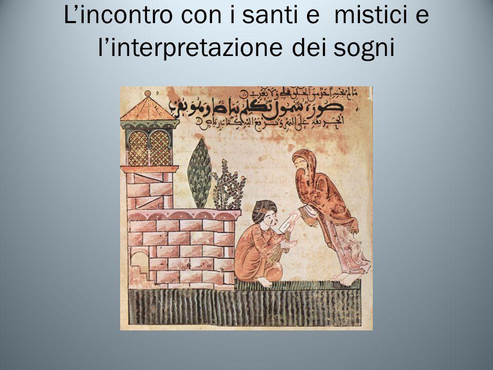 L'incontro con i santi e mistici e l'interpretazione dei sogni