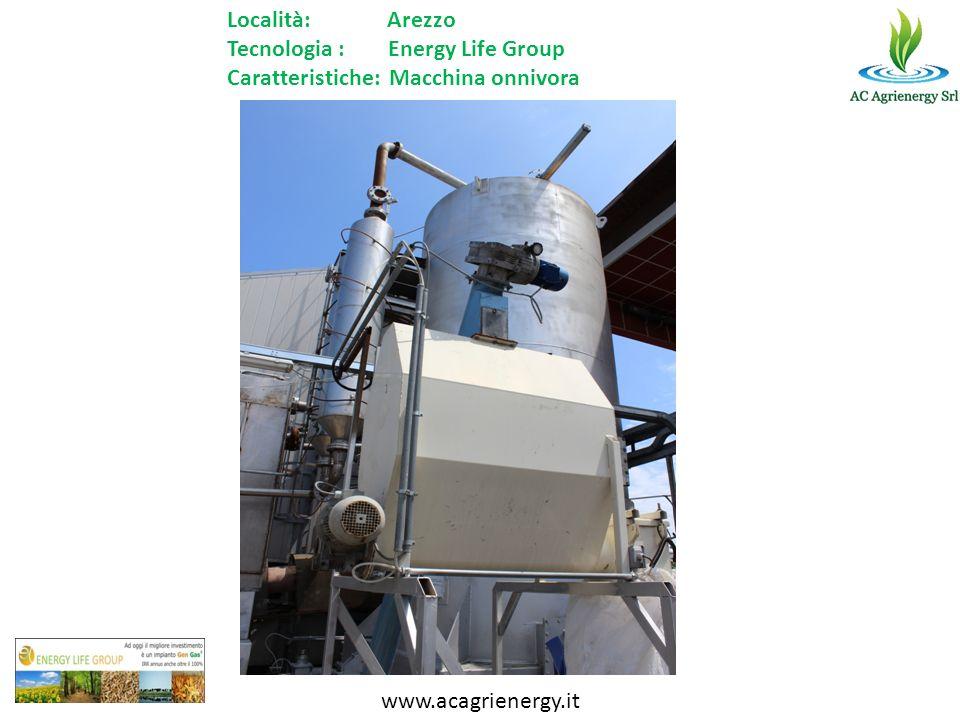 Tecnologia : Energy Life Group Caratteristiche: Macchina onnivora