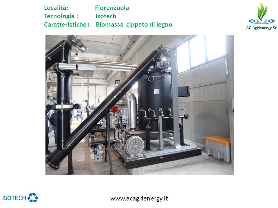 Località: Fiorenzuola Tecnologia : Isotech