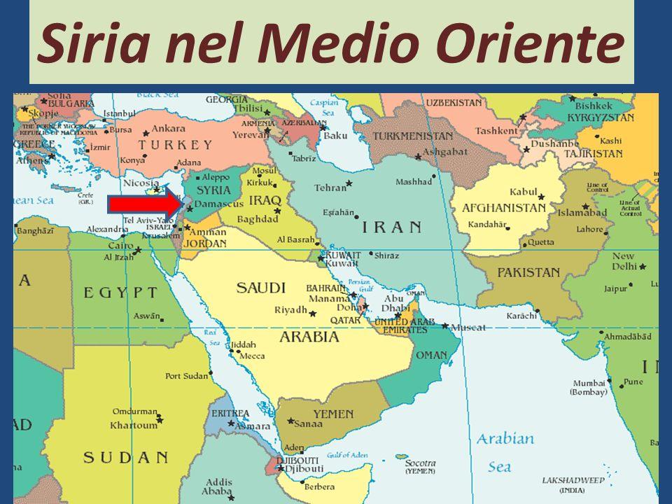 Siria nel Medio Oriente