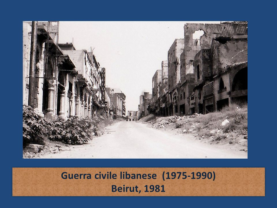 Guerra civile libanese (1975-1990)
