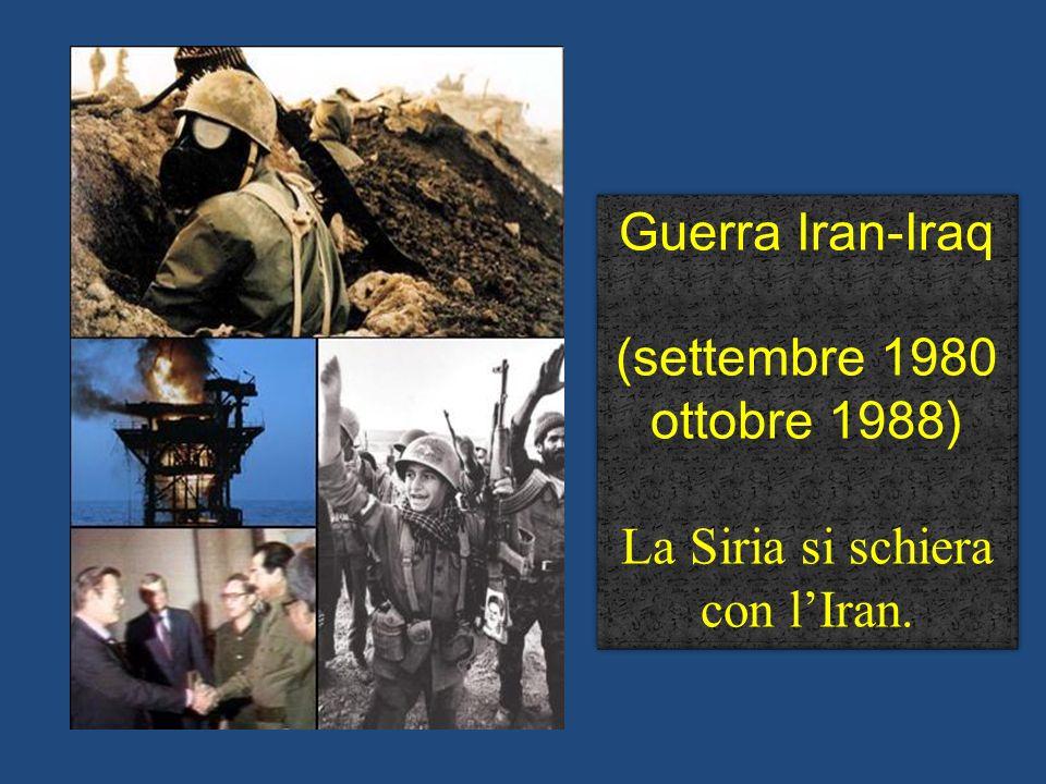 La Siria si schiera con l'Iran.