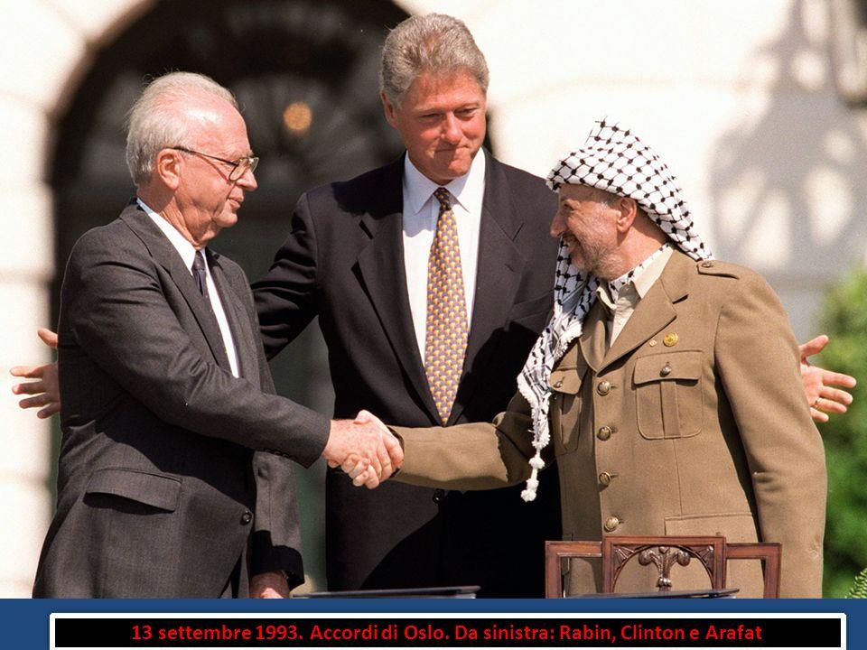 13 settembre 1993. Accordi di Oslo