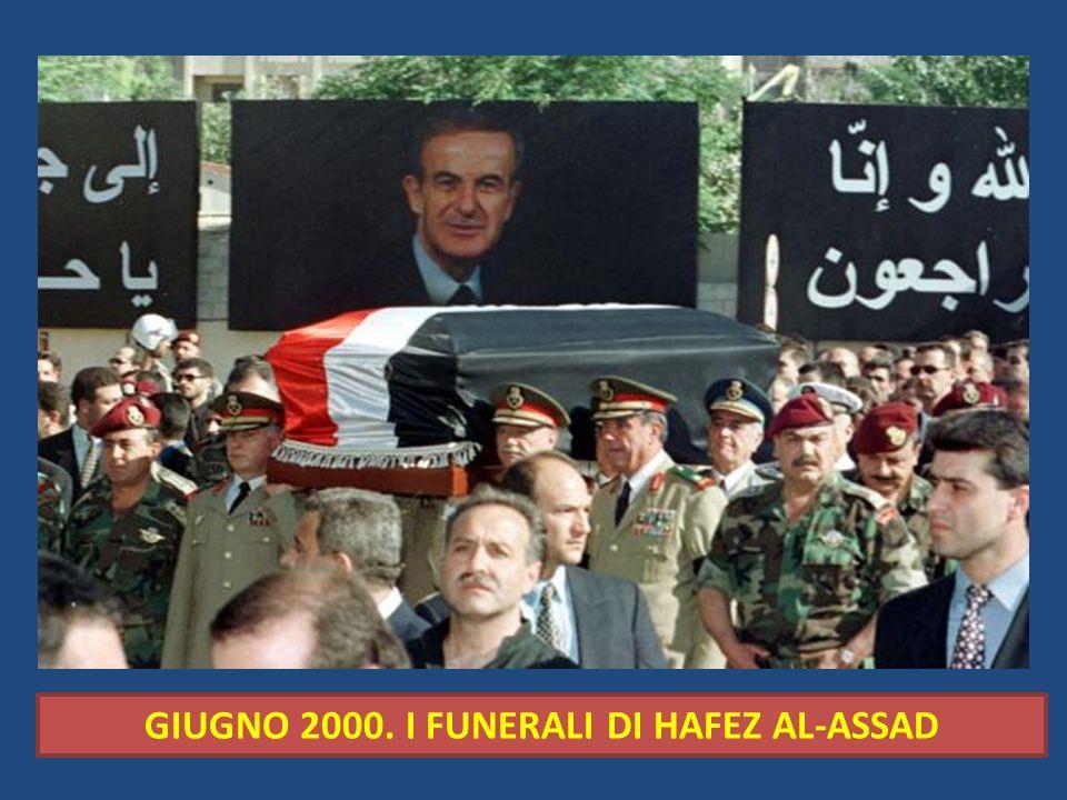 GIUGNO 2000. I FUNERALI DI HAFEZ AL-ASSAD