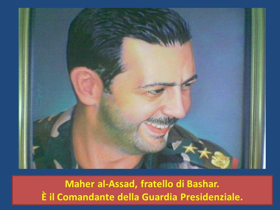 Maher al-Assad, fratello di Bashar.