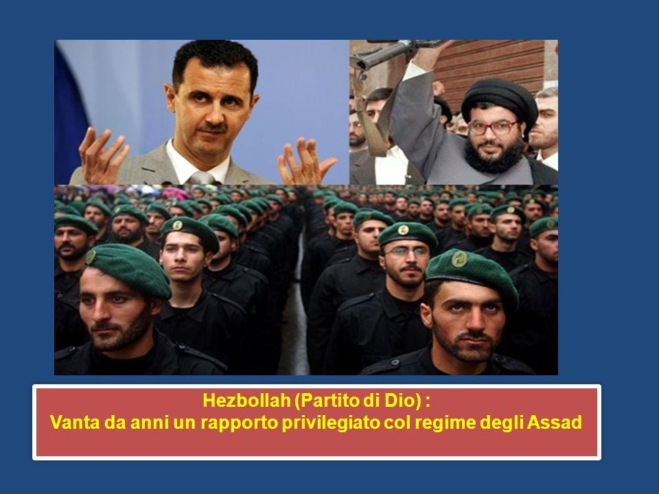 Hezbollah (Partito di Dio) :