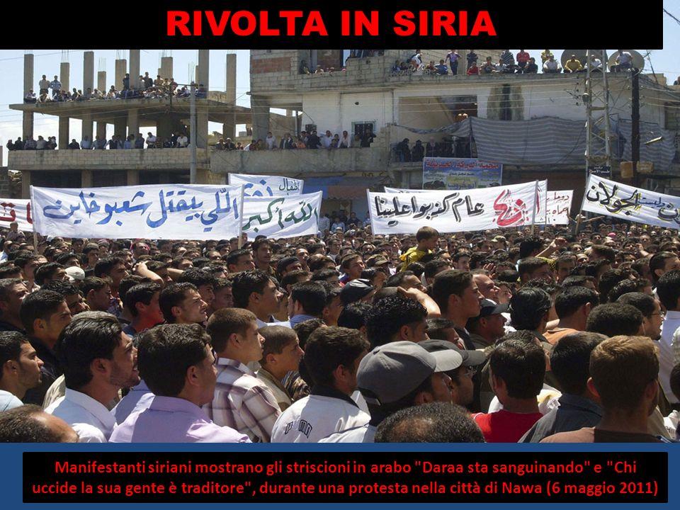 RIVOLTA IN SIRIA