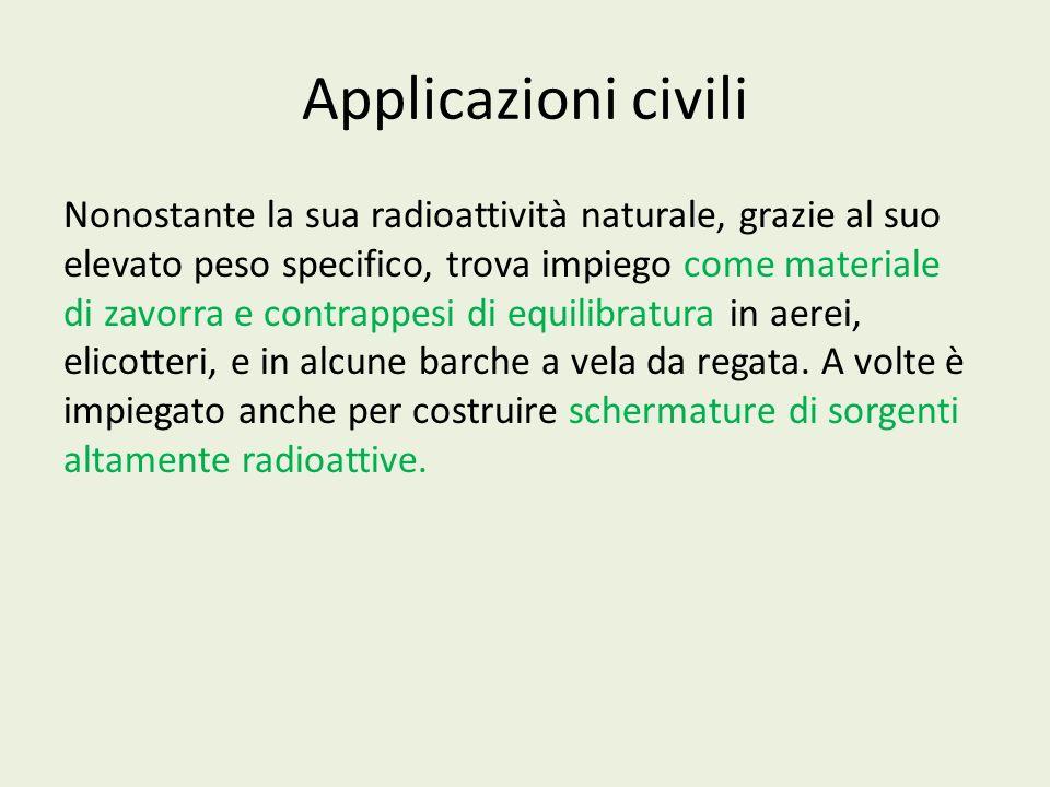 Applicazioni civili