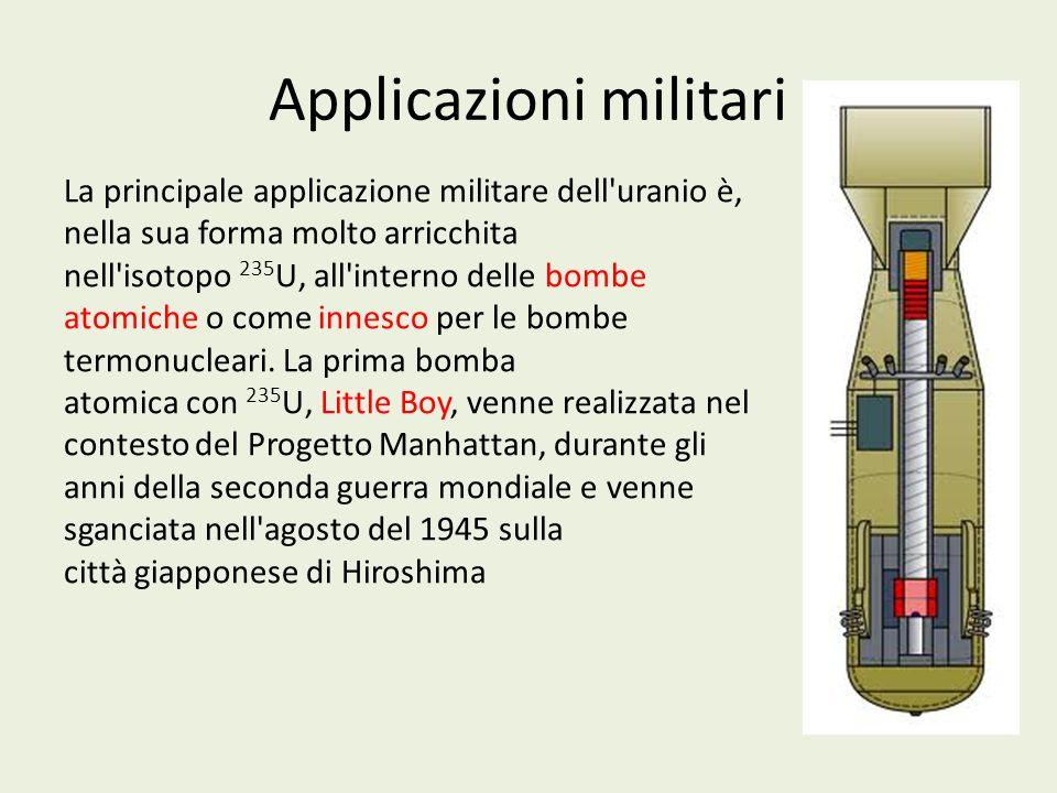 Applicazioni militari
