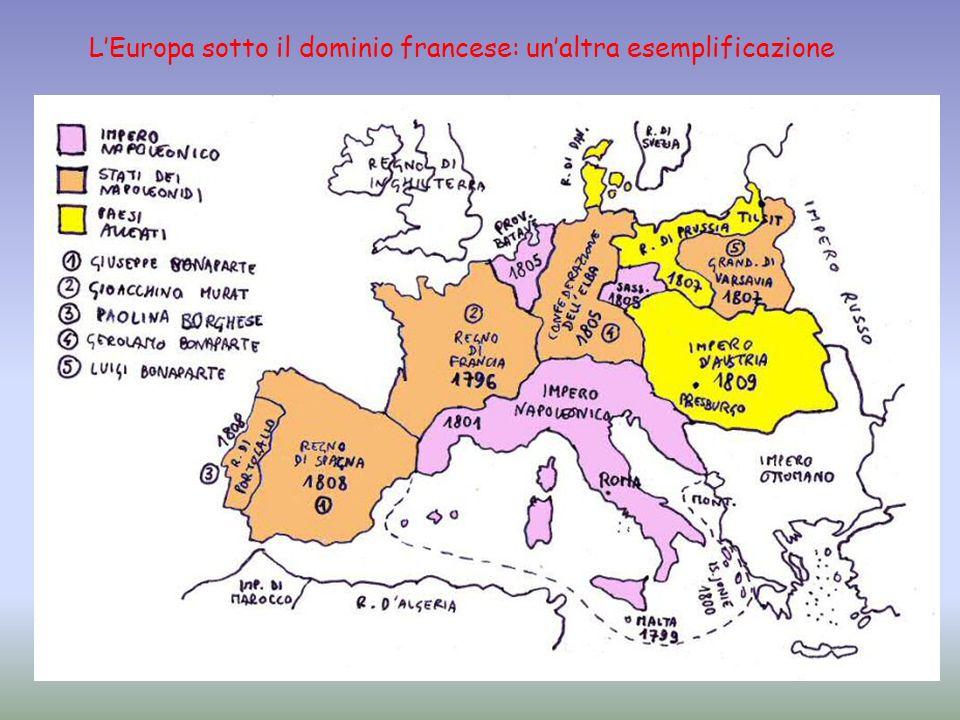 L'Europa sotto il dominio francese: un'altra esemplificazione