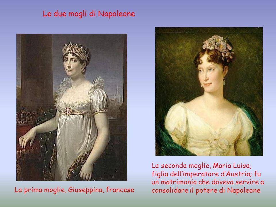 Le due mogli di Napoleone