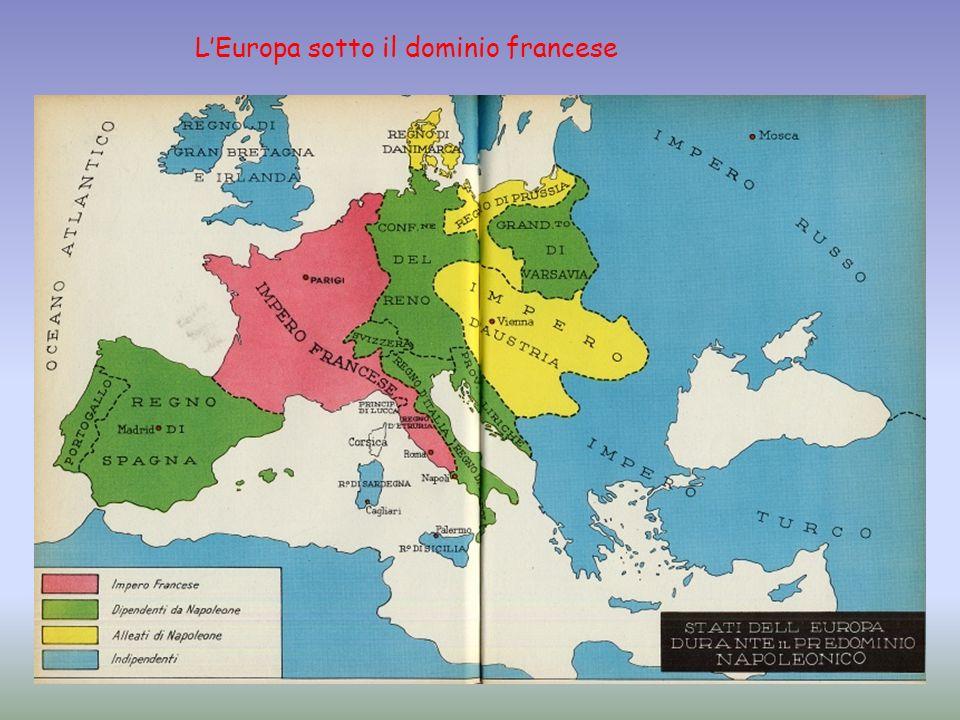 L'Europa sotto il dominio francese