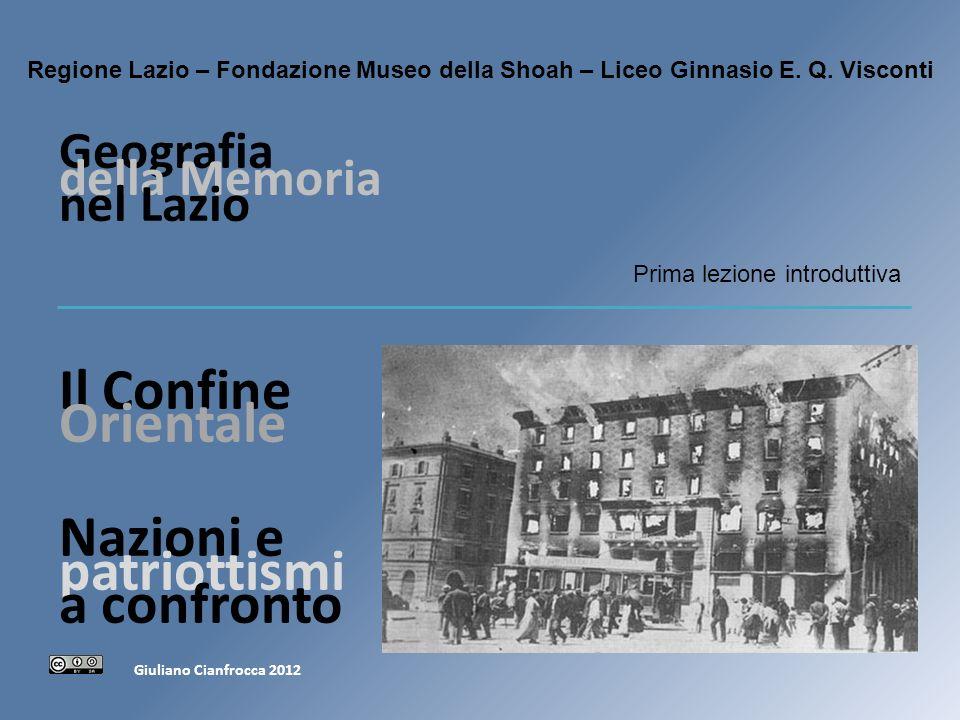 Geografia della Memoria nel Lazio