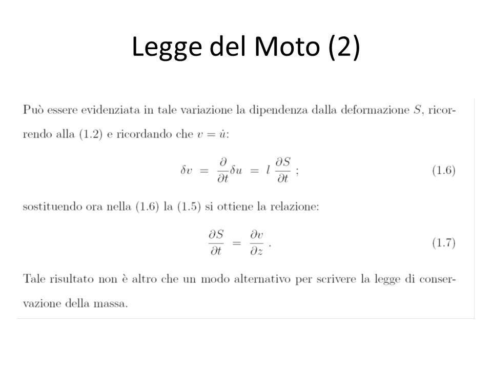 Legge del Moto (2)