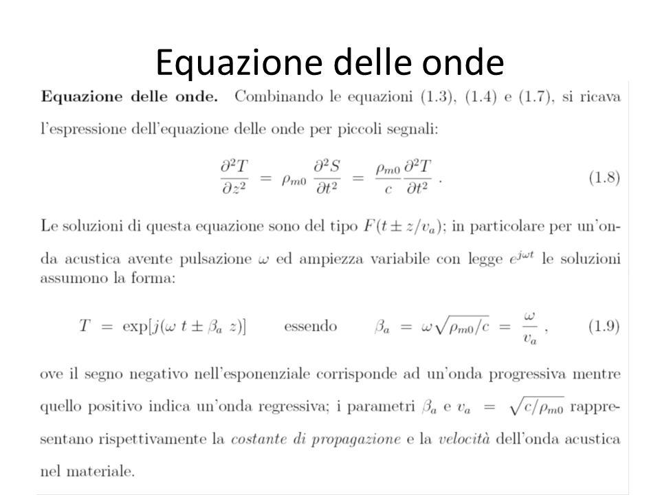 Equazione delle onde
