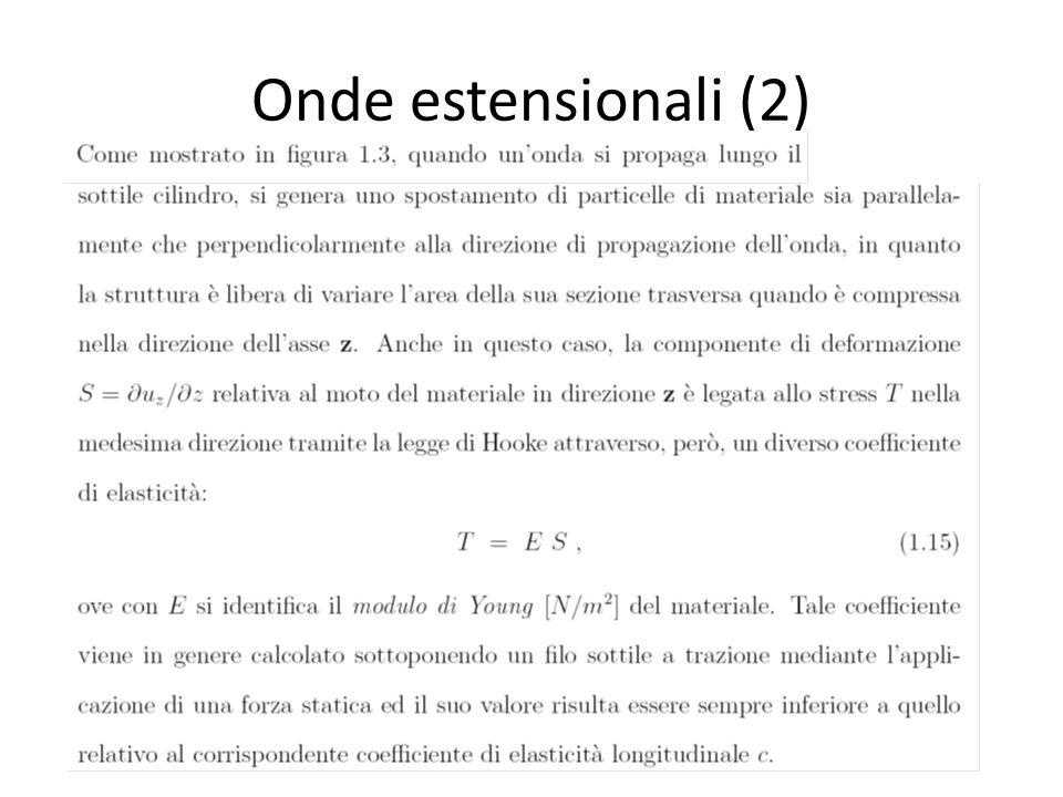 Onde estensionali (2)