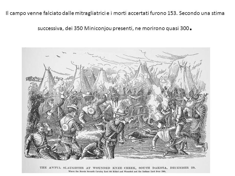 Il campo venne falciato dalle mitragliatrici e i morti accertati furono 153.