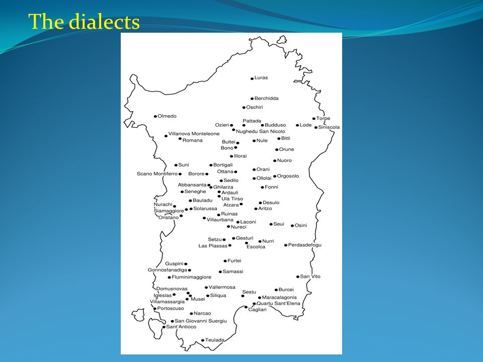 The dialects