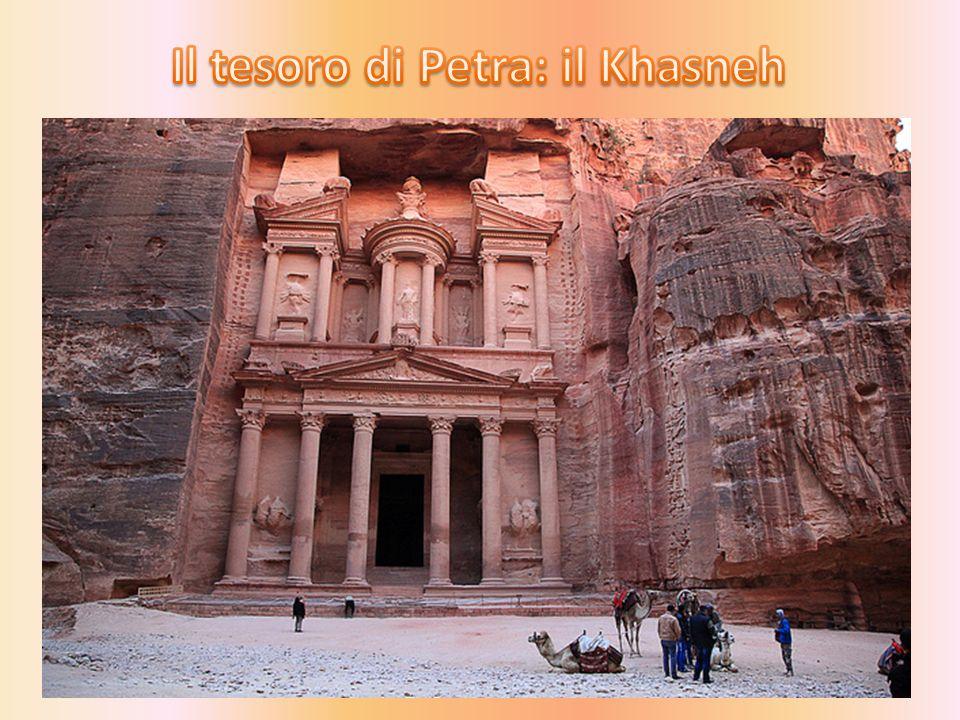 Il tesoro di Petra: il Khasneh
