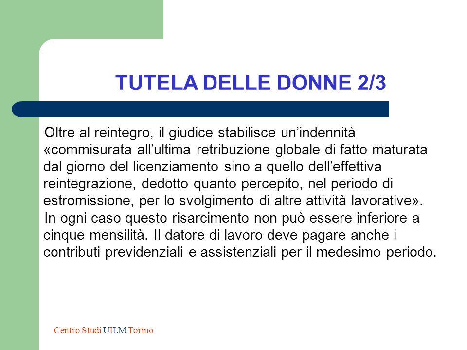 TUTELA DELLE DONNE 2/3