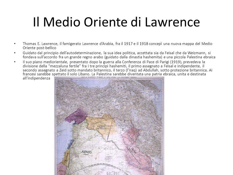 Il Medio Oriente di Lawrence