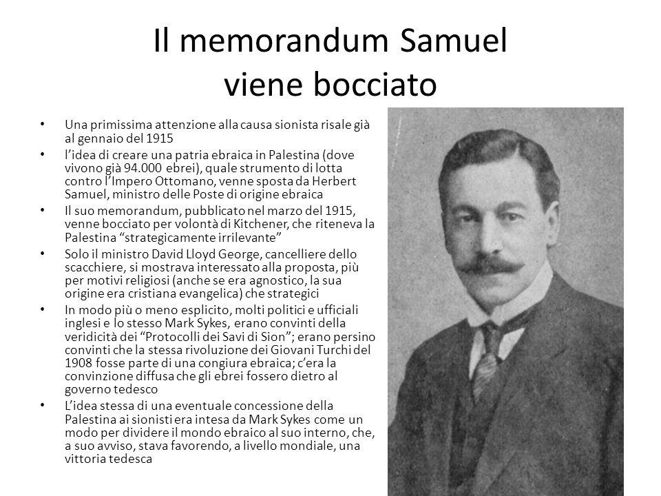 Il memorandum Samuel viene bocciato