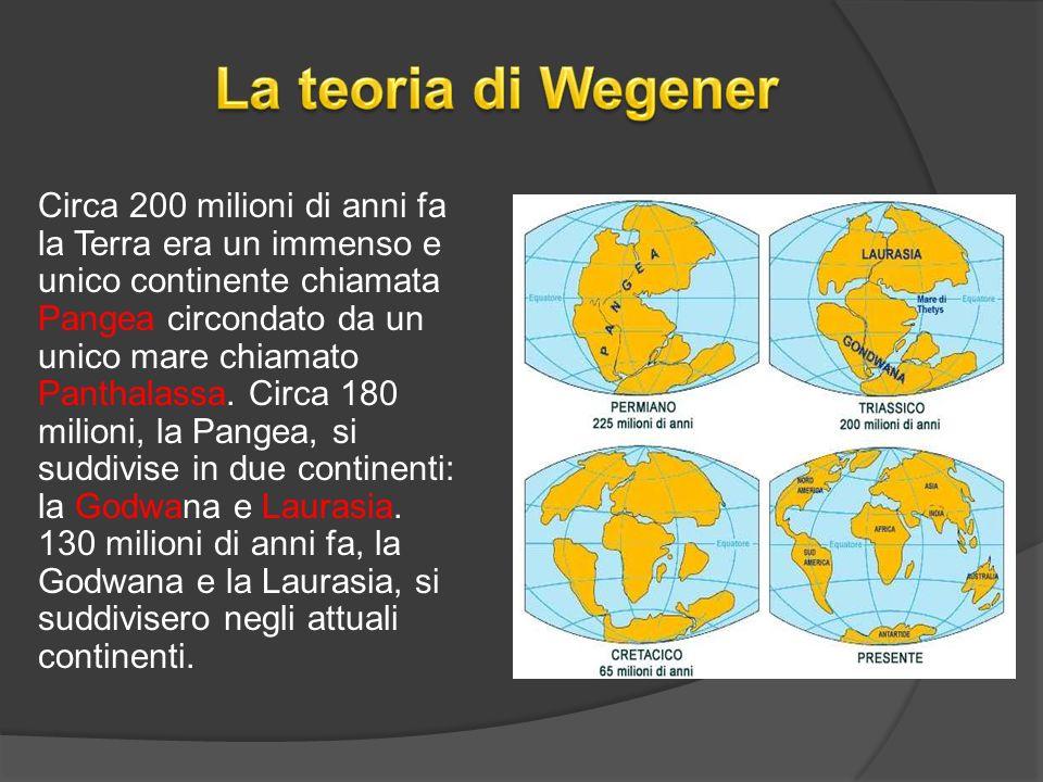 La teoria di Wegener