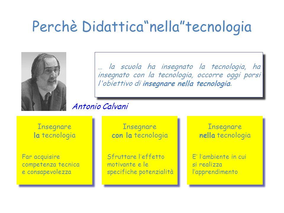 Perchè Didattica nella tecnologia