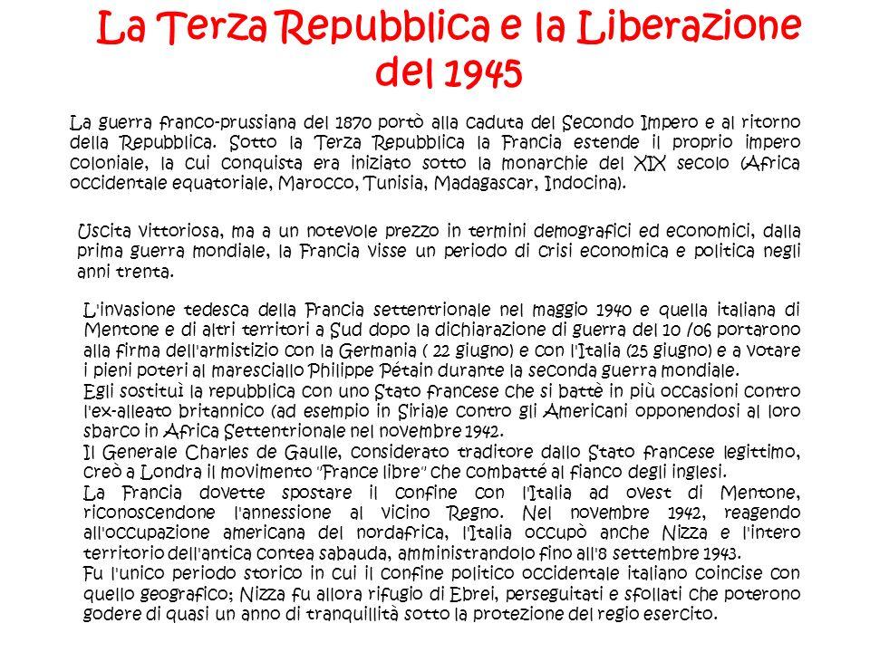 La Terza Repubblica e la Liberazione del 1945