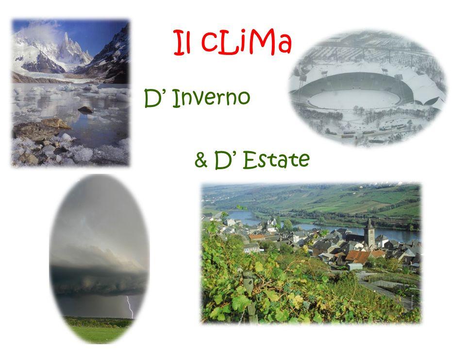 Il cLiMa D' Inverno & D' Estate