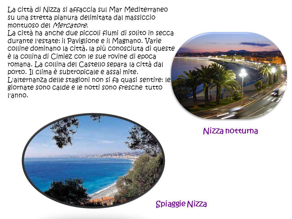 Nizza notturna Spiaggie Nizza