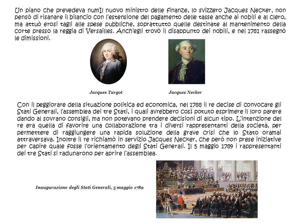 Inaugurazione degli Stati Generali, 5 maggio 1789