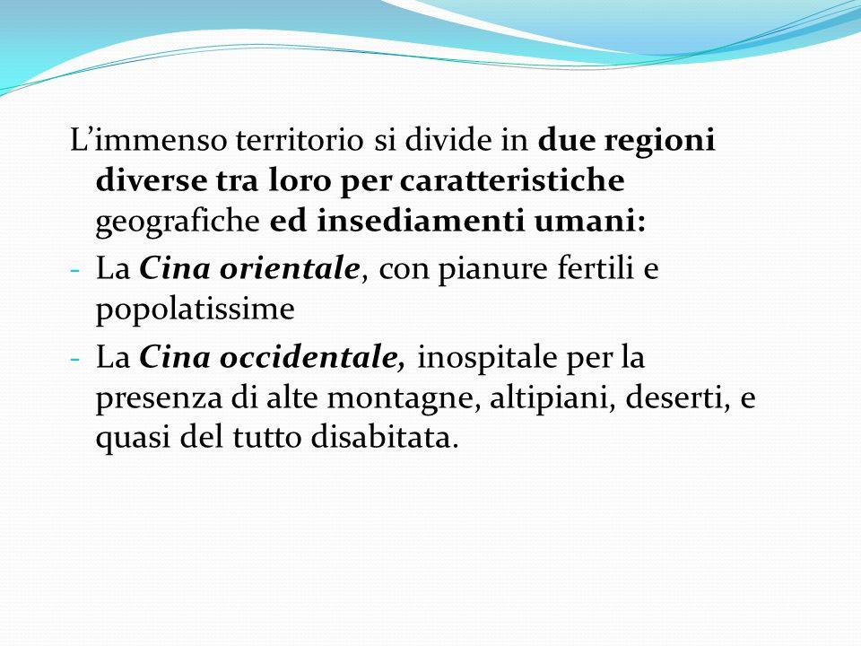 L'immenso territorio si divide in due regioni diverse tra loro per caratteristiche geografiche ed insediamenti umani:
