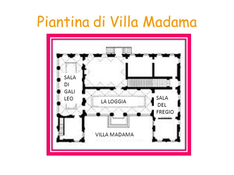 Piantina di Villa Madama