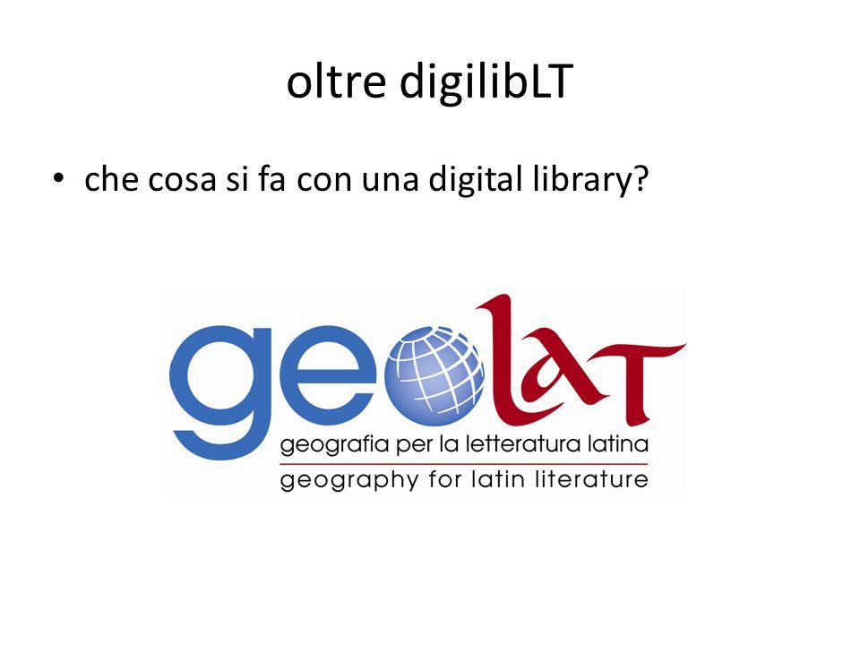 oltre digilibLT che cosa si fa con una digital library