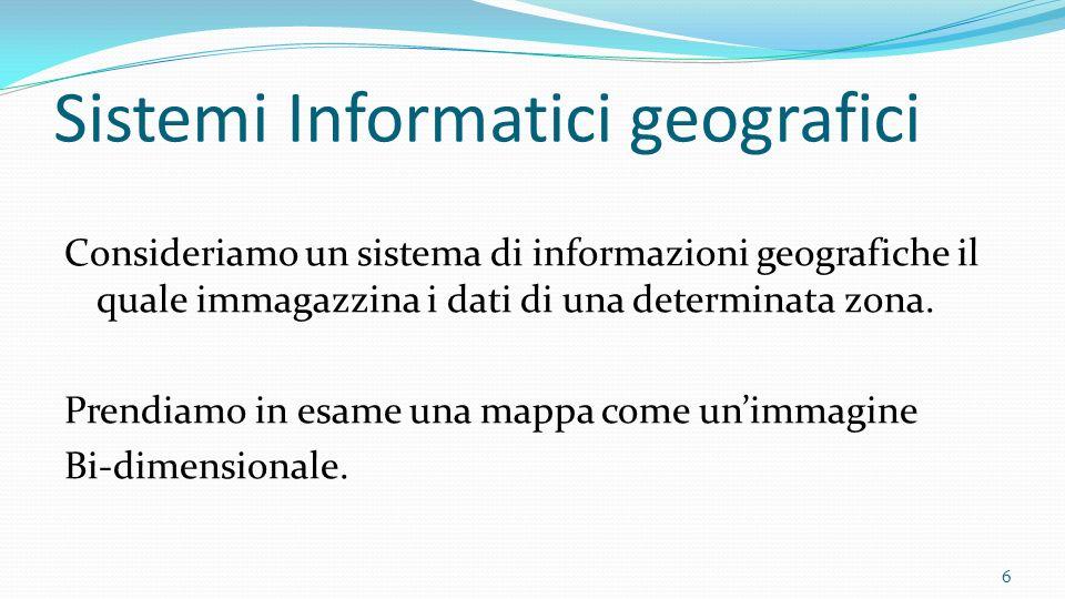 Sistemi Informatici geografici
